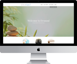 Website design and development for fitness and wellness
